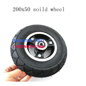 200x50 Electric Scooter Solid Wheel No Air 8 Inch - Bike-Moto