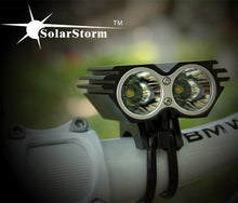 Load image into Gallery viewer, 5000 Lumen 2x XML U2 LED SolarStorm Cycling - Bike-Moto