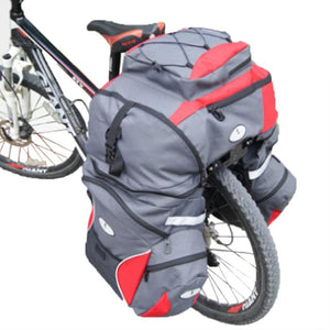 65L Large Capacity Bicycle Cycling Camel Bag With Rain Cover - Bike-Moto