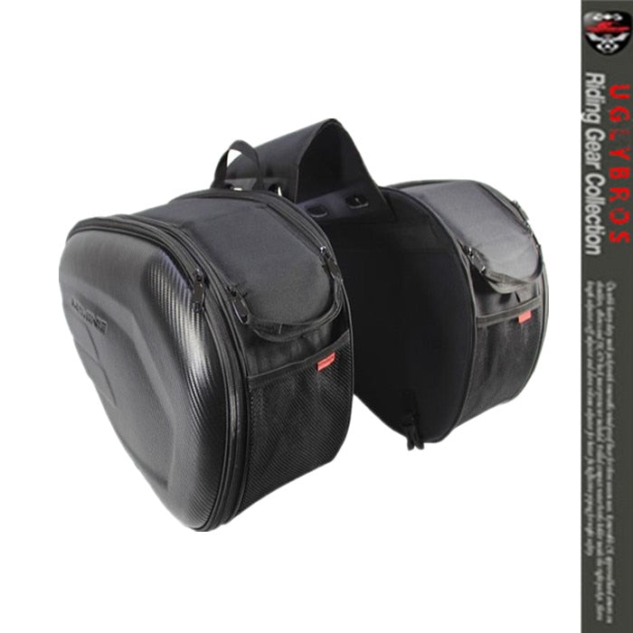 Saddle Bag / Motorcycle Side Helmet Riding Travel Bags