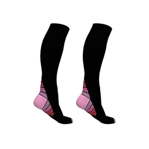 BEST Graduated Athletic Maternity Pregnan Compression Socks - Bike-Moto