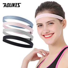 Load image into Gallery viewer, AOLIKES Women Men Yoga Hair Bands Sports Headband - Bike-Moto