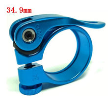 Load image into Gallery viewer, Aluminum Ultralight 28.6mm 31.8mm 34.9mm Seatpost Clamp Quick Release - Bike-Moto