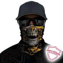 Load image into Gallery viewer, BJMOTO UV Protection Neck Motorcycle/Cycling Ghost Skull Face Mask
