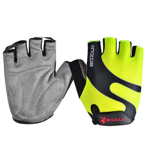 BOODUN Unisex Summer Mountain Bike Bicycle Gloves Gel Pad Half Finger