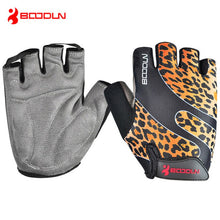 Load image into Gallery viewer, BOODUN Unisex Summer Mountain Bike Bicycle Gloves Gel Pad Half Finger
