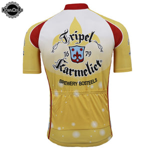Belgium karmeliet beer Cycling jersey men short sleeve summer cycling - Bike-Moto