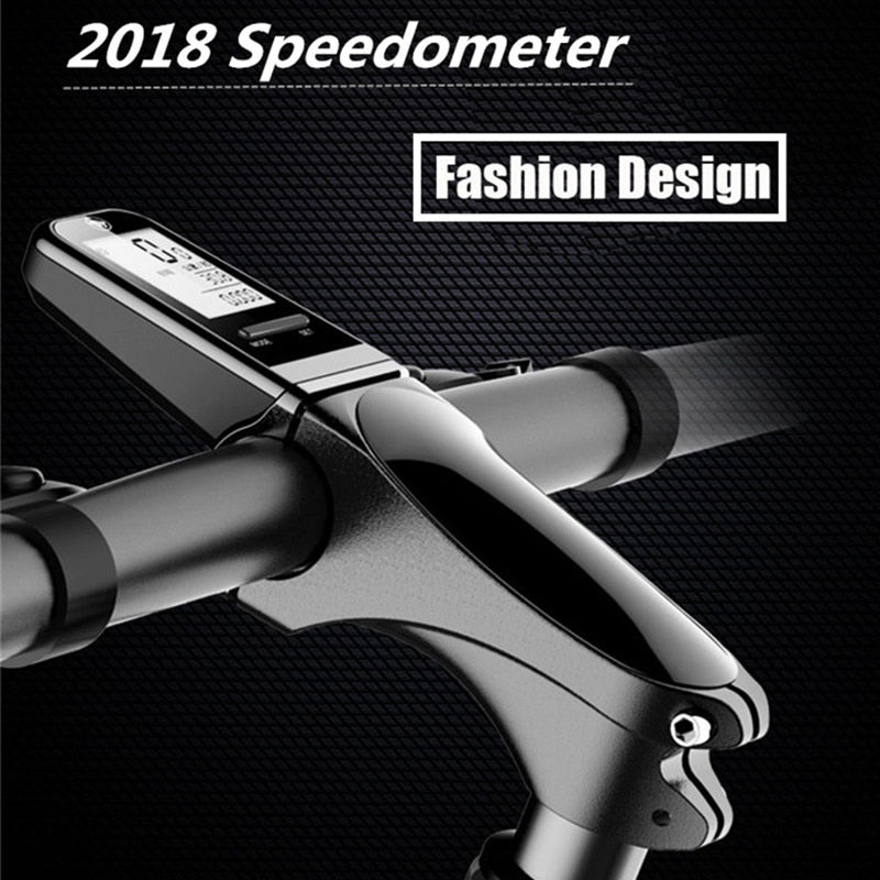 Bicycle Bike Computer MTB Road Stem with Speedometer - Bike-Moto