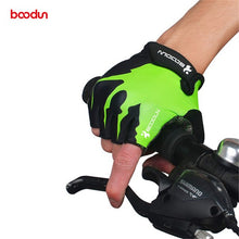 Load image into Gallery viewer, Boodun Summer Anti-slip Half Finger Cycling Gloves Men Women Shockproof