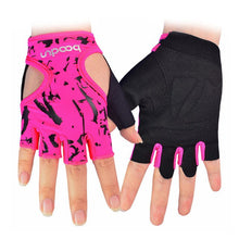 Load image into Gallery viewer, Boodun Women's Cycling Bike Half Finger Anti-slip Breathable