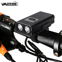 Load image into Gallery viewer, Bright 1000LM Front Bicycle Lamp LED USB Rechargeable Bike Light