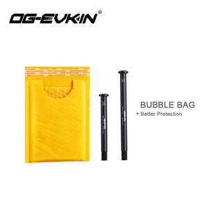 OG-EVKIN Carbon Quick Release for Mtb Road Bicycle Skewers