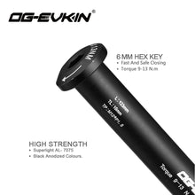 Load image into Gallery viewer, OG-EVKIN Carbon Quick Release for Mtb Road Bicycle Skewers