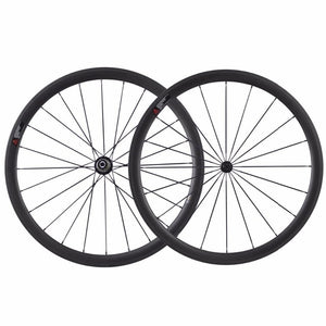 Carbon Wheelset 700c Clincher 38mm Road Bike Wheels Clincher
