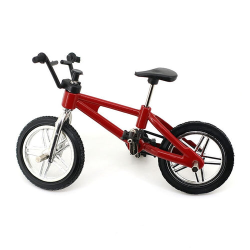 Mini Bicycle Simulation Small Bicycle 1:10 RC Crawler Decor Accessory