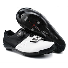 Load image into Gallery viewer, City Cycling Shoes Heat Moldable 3K Carbon Fiber Road Bike Sneaker - Bike-Moto