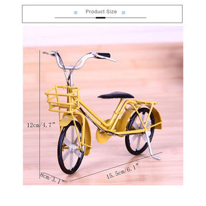 Classic Retro Handmade Bicycle Model Decoration Figurines Vintage - Bike-Moto