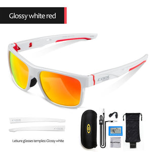CoolChange Cycling Eyewear Outdoor TR-90 Photochromic Bicycle Glasses