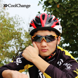 CoolChange ride the bike helmet and road mountain bike men and women