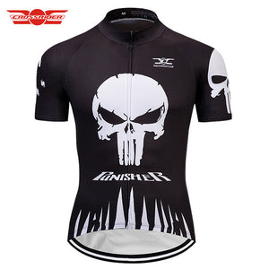 Crossrider SKULL Cycling Jersey Breathable, Anti-sweat, Quick Dry - Bike-Moto
