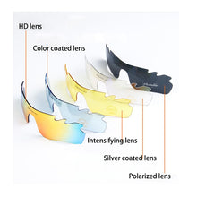 Load image into Gallery viewer, Moon Cycling Glasses Eyewear Polarized Cycling Sunglasses