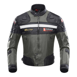 DUHAN Motorcycle Jacket Motorbike Riding Jacket Windproof Motorcycle Full Body