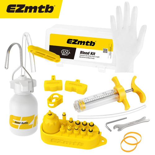 EZmtb Bicycle Hydraulic Disc Brake Mineral Oil Bleed Kit