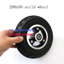 Load image into Gallery viewer, 200x50 Electric Scooter Solid Wheel No Air 8 Inch - Bike-Moto