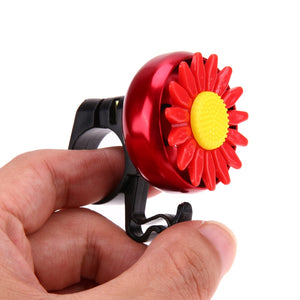 Flower Beautiful Bike Bicycle Cycling Handlebar Ring Horn Sound Bell - Bike-Moto