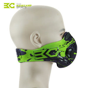 Air Filter Sport Face Mask Training Bicycle Cycling Half Face Mask - Bike-Moto
