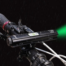 Load image into Gallery viewer, Front Bicycle Headlight Green Projector Bike Light Safety