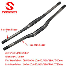 Load image into Gallery viewer, Full Carbon Fiber Bicycle Handlebar Set - Bike-Moto