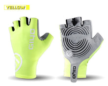 Load image into Gallery viewer, GIYO Anti Slip Gel Pad Bicycle Gloves Gel Pad Short Half Finger Cycling