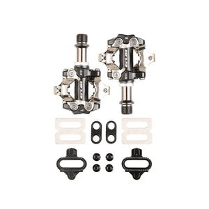 GUB M101 Aluminum Alloy Bicycle Pedals MTB Road Bearing Pedals Chrome