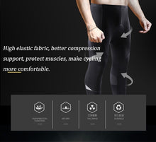 Load image into Gallery viewer, Men Cycling Pants MTB Bike Tights 3D Gel Pad Breathable Cycling Pants Long