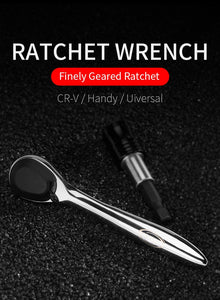 Portable Mini 10 In 1 Ratchet Wrench Bicycle Tools Kit
