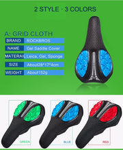 Load image into Gallery viewer, ROCKBROS Bicycle Saddle Liquid Silicon Gels