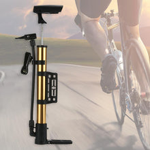 Load image into Gallery viewer, Portable Cycling Bicycle Air Pump and Ball Basketabll Type Soccer Bike Pump