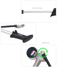 Load image into Gallery viewer, GIYO 300PSI Air Supply Inflator Bicycle Pump To Inflate Fork Shock Fits Schrader - Bike-Moto