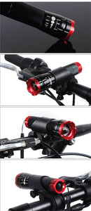 Cycling Bicycle Light 2000 Lumen 3 Mode Q5 LED Flashlight Bike - Bike-Moto