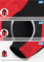 Load image into Gallery viewer, ARSUXEO Fleece Thermal Cycling Jacket Autumn Winter - Bike-Moto