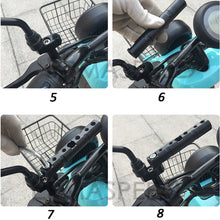 Load image into Gallery viewer, Motorcycle Parts Multiple Function Handlebar Extended Bracket Universal 8mm 10mm