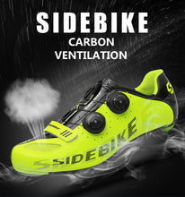Load image into Gallery viewer, Sidebike carbon road cycling shoes men