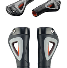 Load image into Gallery viewer, Aluminum Rubber 22.2 mm Bicycle Grips Ends - Bike-Moto