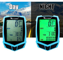 Load image into Gallery viewer, WEST BIKING Bike Computer Bicycle Speedometer LED Bicycle 20 Functions
