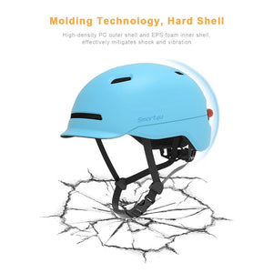 Waterproof Women Men Xiaomi Smart4u SH50 Cycling Helmet Intelligent