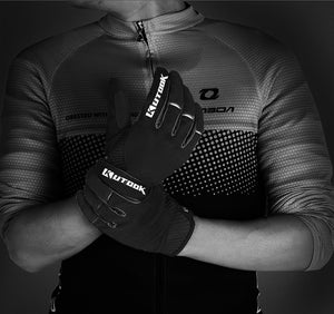 KUTOOK Mountain Bike Gloves Winter Cycling Full Finger Gloves