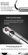 Load image into Gallery viewer, Sireck Bike Pump With Pressure Gauge Aluminum Alloy Portable Mini