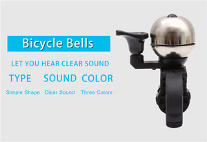 West Biking Bicycle Bell Pure Copper Bike Sound Handlebar