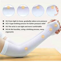 Load image into Gallery viewer, Ice Fabric Arm Sleeves Mangas Warmers Summer Sports UV Protection - Bike-Moto